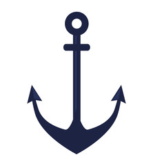 anchor symbol isolated icon vector illustration design