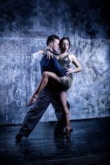 Argentine Tango. Latin dance.