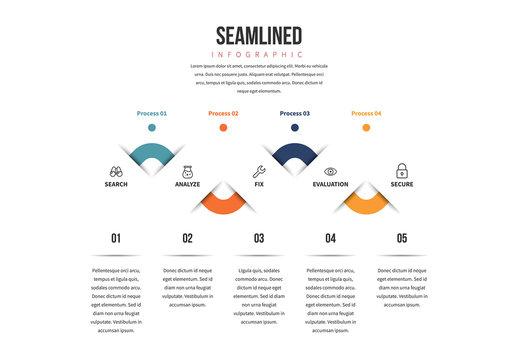 Seam Lined Graphic