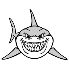 Shark Smile Illustration