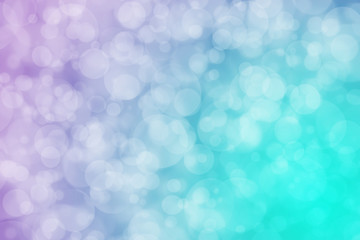 Abstract bokeh design for use as background