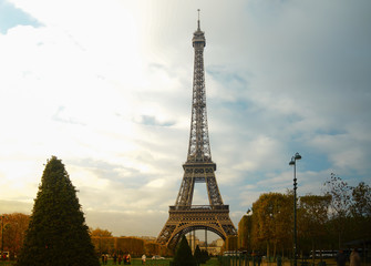 The Eiffel tower is the most visited monument of France with about 6 million visitors every year