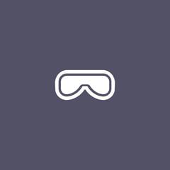 goggle icon design