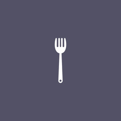 Fork icon for kitchen