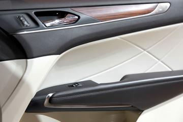 Elegant design of luxury car door trim