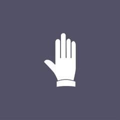 simple hand icon
