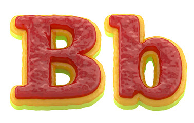 Jelly font.