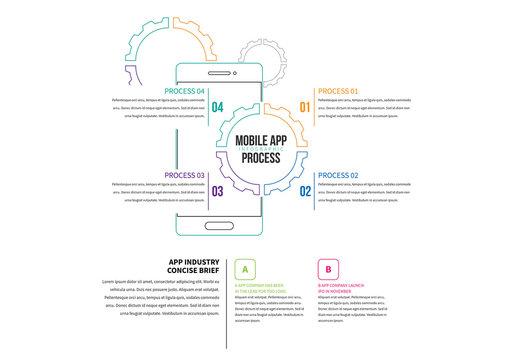 Line Art  Smartphone Infographic 1