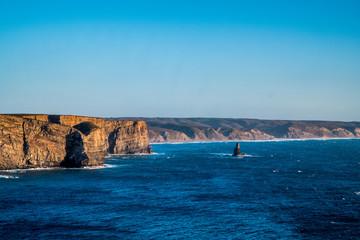 Portugal - Cliffs and ocean