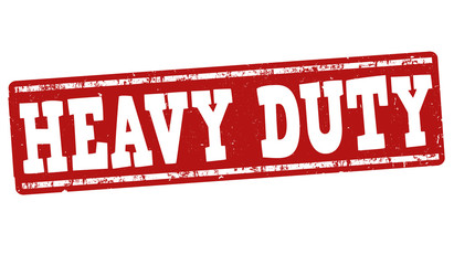 Heavy duty sign or stamp