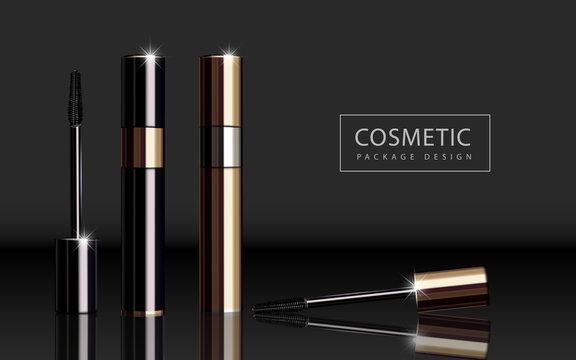 Glossy mascara product