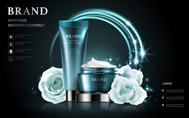 cosmetic set ads