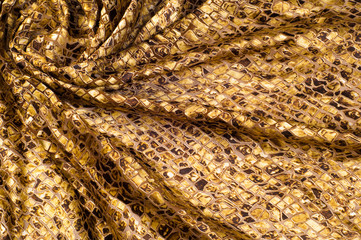 Fabric with a pattern of stone. tissue, textile, cloth, fabric,