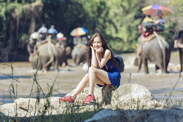 Elephants tour