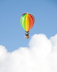 熱気球 おもちゃ