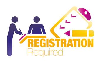 registration, form, vector, register