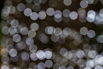 White bokeh lights