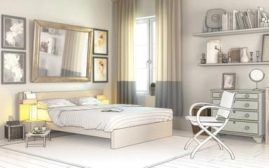 Im Schlafzimmer (Planung)