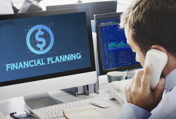 Financial Banking Investment Revenue Wealth Concept