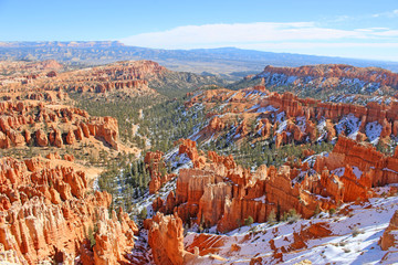 Bryce Canyon, Utah, in winter