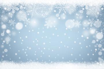 Winter Schnee Schneeflocken Hintergrund