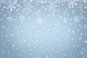 Winter Schneeflocken Hintergrund