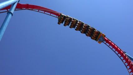 Fun Roller Coaster Ride