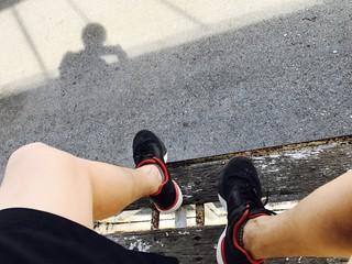 resting from running