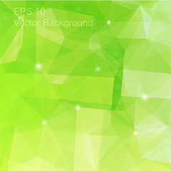 Triangulation generic backdrop for design, colorful vector template