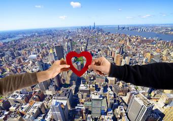 Saint Valentine's Day in New York City
