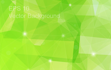 Triangulation generic backdrop for design, colorful horizontal template