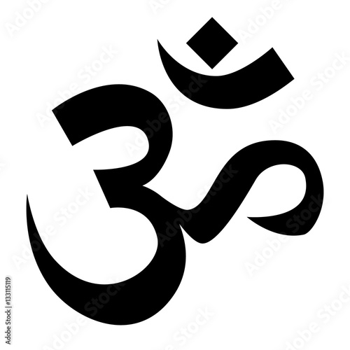 Hindu om symbol stock image and royalty free vector Om symbol images download