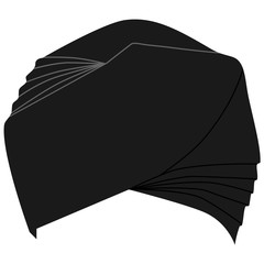Turban headdress vector