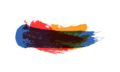 swoosh logo's background