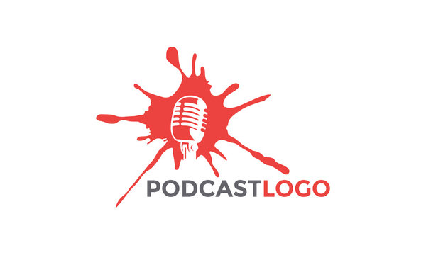 podcast logo template