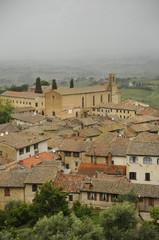 Rooftops, San Gimignano, Sienna, Italy