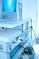 Special medical equipment in modern hospital