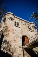 Entrée du Pont d'Avignon, on y danse !