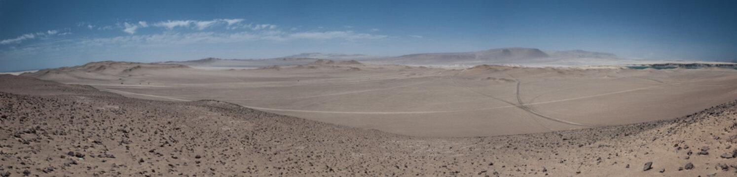 Pisco, Peru - desert