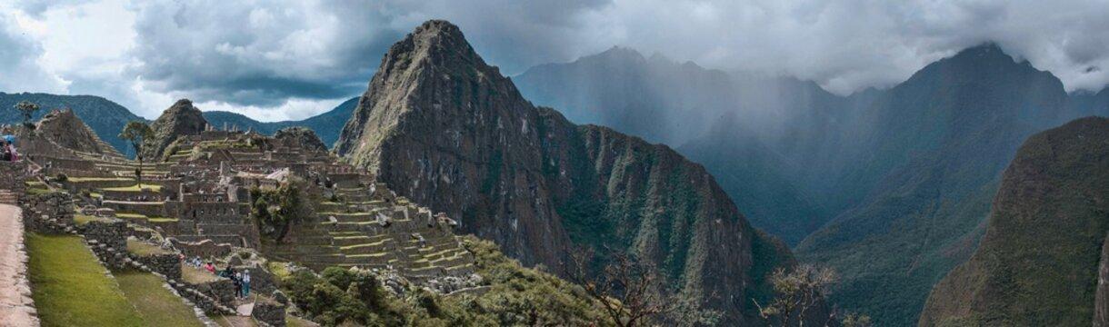 Machu PIcchu, Peru Panorama
