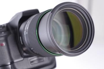 Kamera mit Objektiv