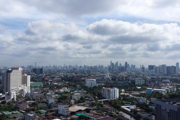 Bangkok's skyline, Thailand, Asia