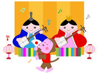 雛祭のコンサート