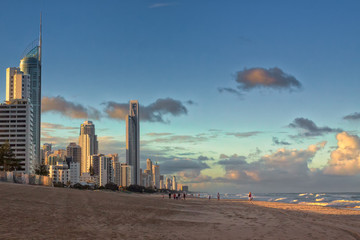 Evening at the Gold Coast