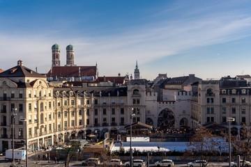 Karlsplatz München Panorama