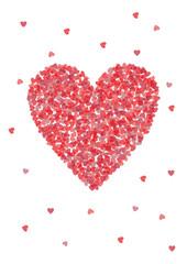 Valentine's Day Heart Shape Cover Design