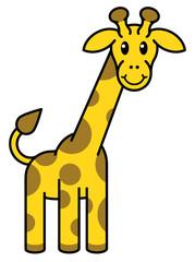 Cartoon Giraffe Animal