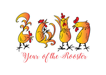 Chinese New Year of the Rooster.