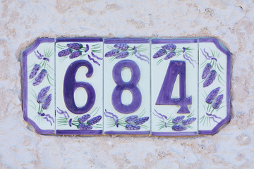 House Number Six Hundred Eighty Four - 684