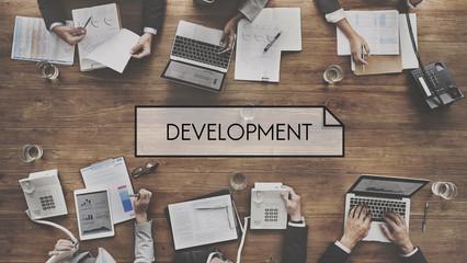 Development Progress Success Achievement Concept